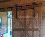 Help _ Barn door hanger & track which one 2 buy? | Property ...