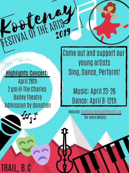 Kootenay Festival Of The Arts 2019 Dance Bhubble