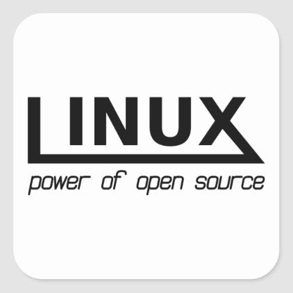 Linux Square Sticker