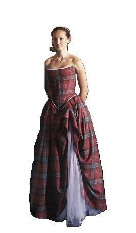 Tartan Gown Scottish Reiver Tartans [gwn]   $1,449.99