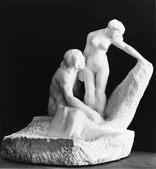 """Auguste Rodin - Pigmalion i Galatea, o rzeźbiarzu, który zakochał się we własnej rzeźbie w """"Metamorfozach"""" Owidiusza <3"""