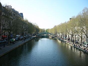 Canal saint martin a paris 3