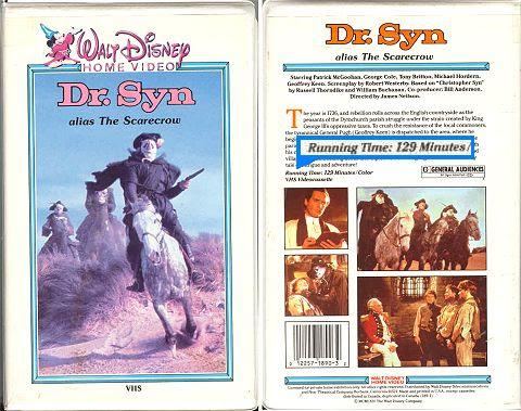 Dr. Syn videotape