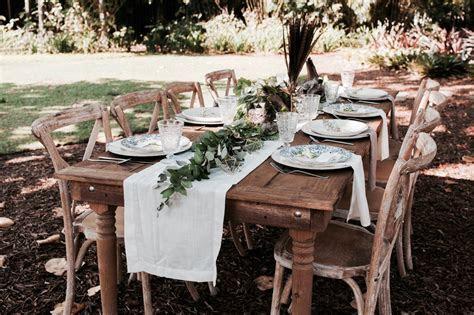 Boho Chic & Natural Table Decor Styled Shoot at Botanical
