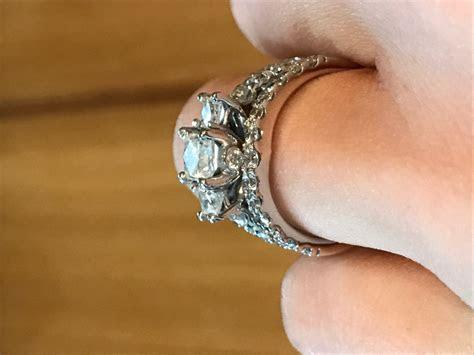 Leo Diamond Engagement Band & Kay Wrap