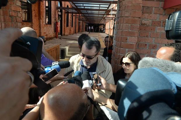 Velório Hector Babenco - Tony Ramos (Foto: Francisco Cepeda/ Ag. News)