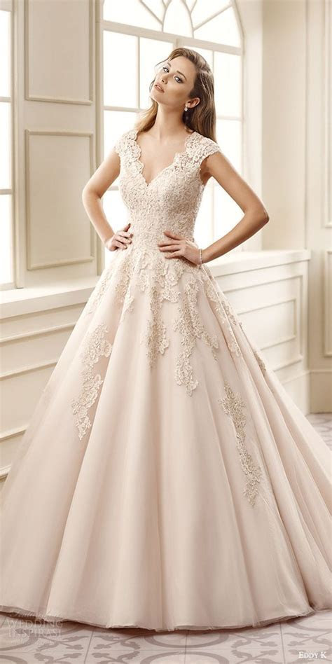 Champagne Colored Wedding Dress