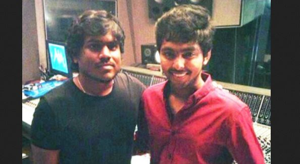 Yuvan Shankar croons for G.V. Prakash Kumar