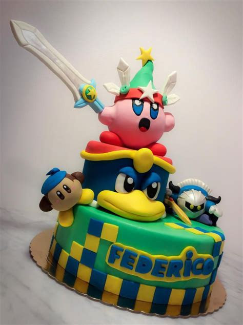 Kirby cake   Cake by danida   Kirby in 2019   Cake, 11th