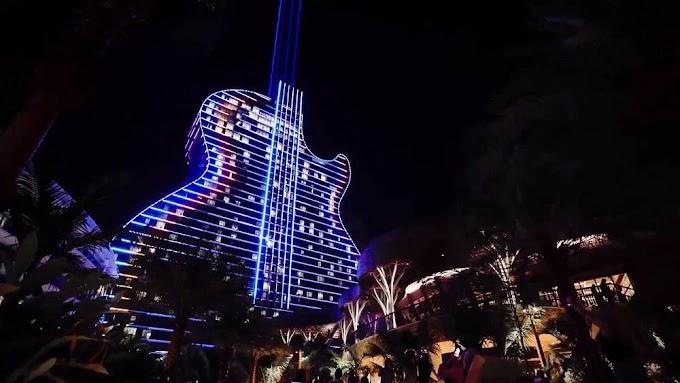 Το πρώτο ξενοδοχείο κιθάρα στον κόσμο
