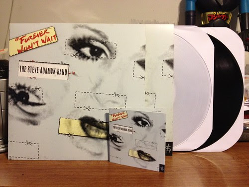 The Steve Adamyk Band - Forever Won't Wait LP - Clear Vinyl (/200) & Black Vinyl & CD