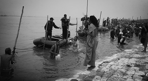 Shooting The Greatest Moment Of The Maha Kumbh - The Shahi Snan by firoze shakir photographerno1