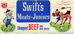 Swift's Meat for Juniors label