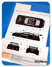 Calcas 1/24 Shunko Models - BMW M3 Postbrief - Andy Priaulx + Augusto Farfus - DTM 2011 para kits de Revell REV07178 y REV07082
