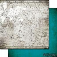 Лист двусторонней скрапбумаги от 7 Dots Studio - Destination Unknown - Celestial, 30x30 см, 1 шт. - ScrapUA.com