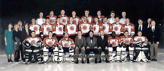 1994-95 Ft Wayne Komets team, 1994-95 Ft Wayne Komets team
