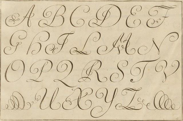 La penna da scrivere - Francesco Polanzani, 1768 c