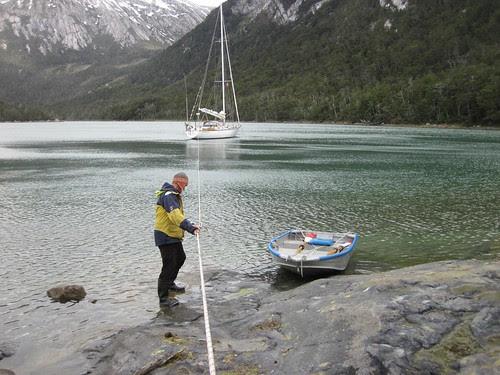 setting shore line
