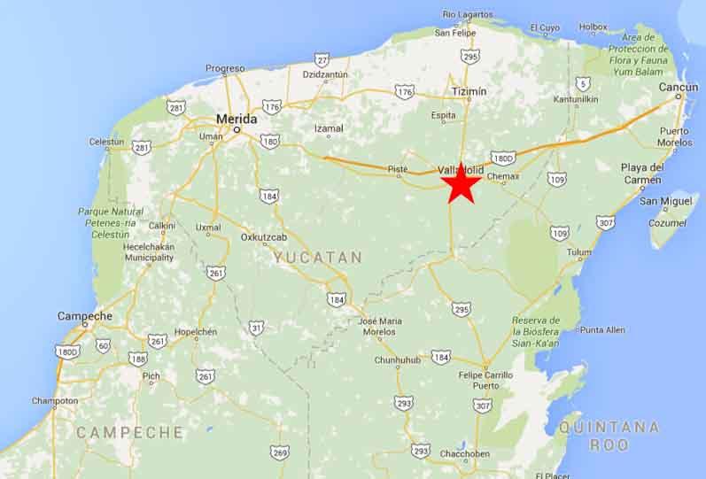 Valladolid map 21