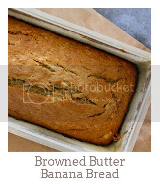 """""""Browned Butter Banana Bread"""""""