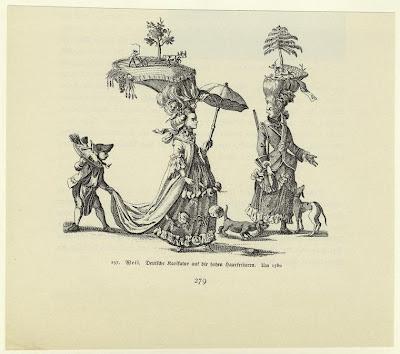 Die Frau in der Karikatur