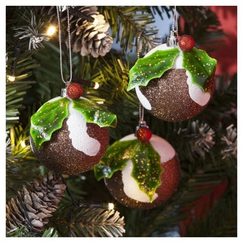 Christmas Tree Decorations Tesco | Christmas Decorating