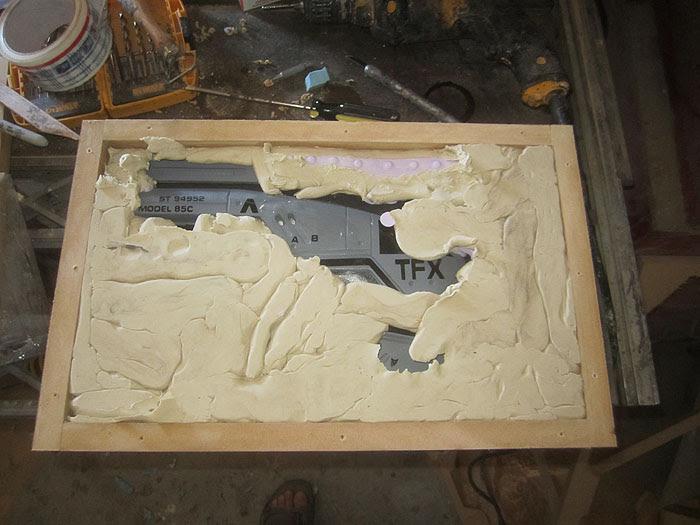 M-3 Pistol Mold Second Half2460