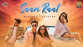 Saari Raat Lyrics (Hindi + English) Bharatt Saurabh   VYRLOriginals