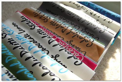 silk screened fabric