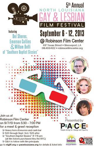 North Louisiana Gay & Lesbian Film Festival by trudeau