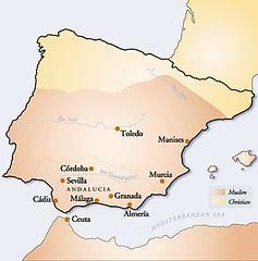 Wilayah Org2 Islam & Kristian Di Spain