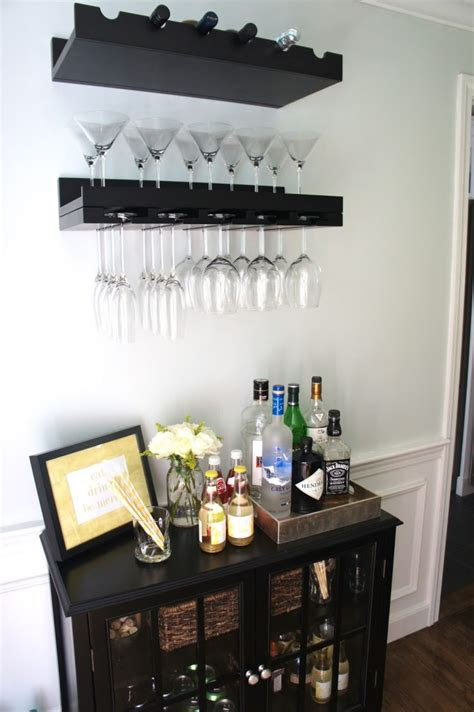 cool home mini bar ideas shelterness