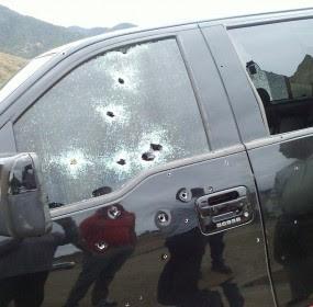 El atentado contra una candidata a diputada del PRI en Oaxaca. Foto: Taurino López