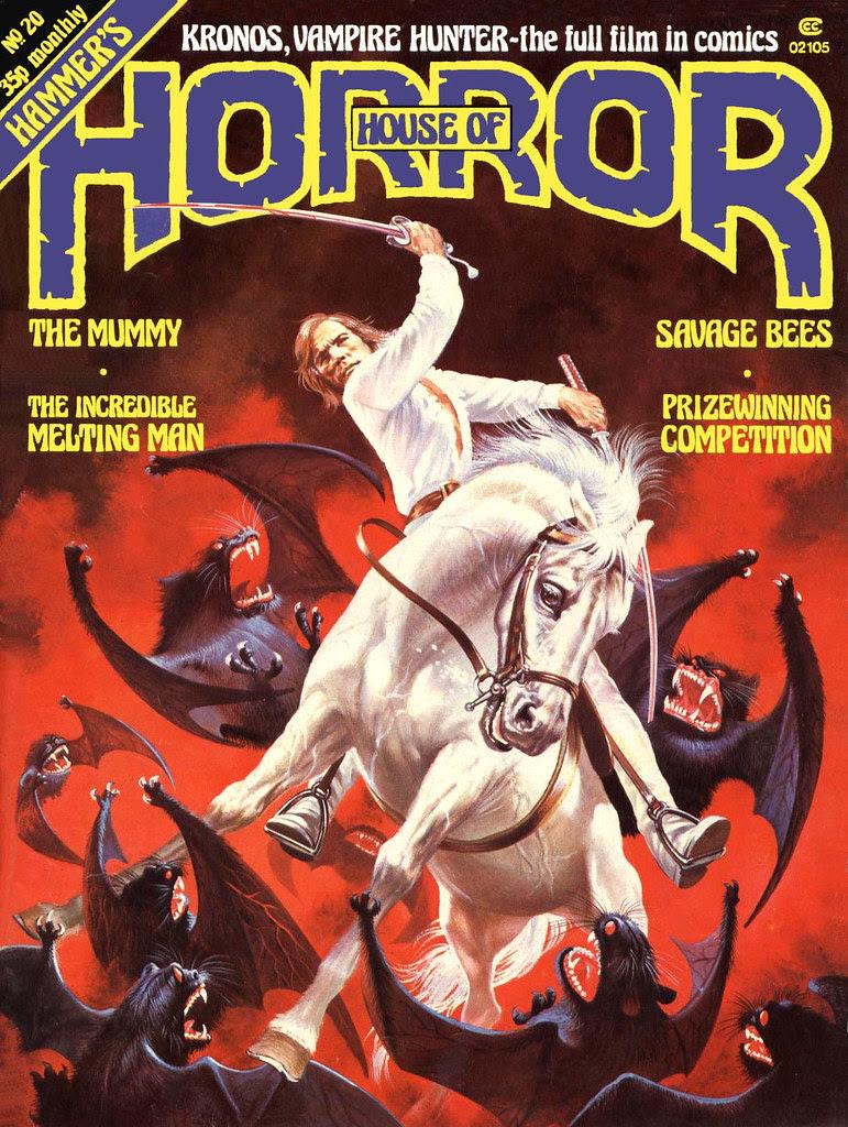 House Of Hammer Magazine (House of Horror) - Issue 20 (1981)
