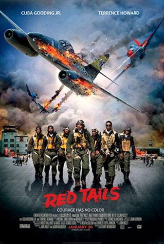 RED TAILS theatrical poster.