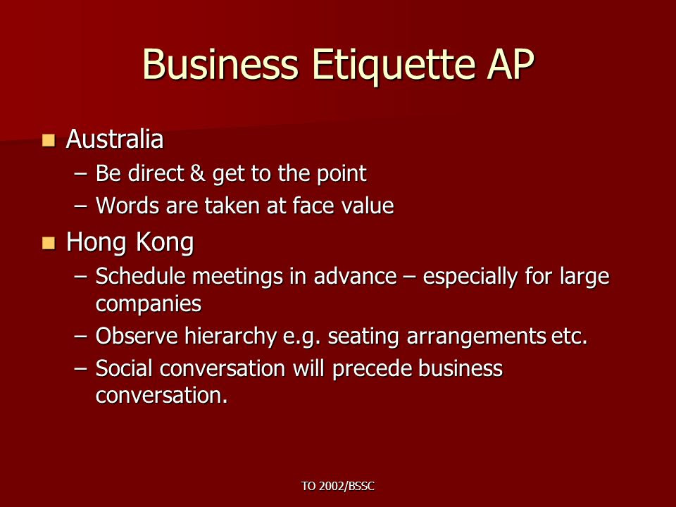 Introduction to Business Etiquette  ppt video online download