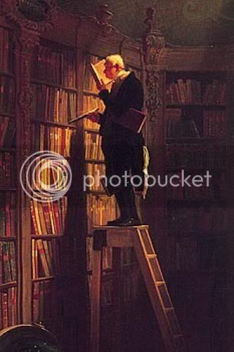 Spitzweg. The Bookworm