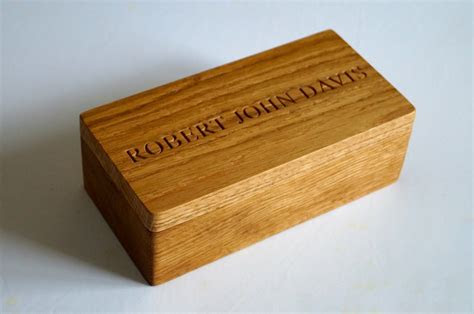 Personalised Small Wooden Box   Make Me Something Special