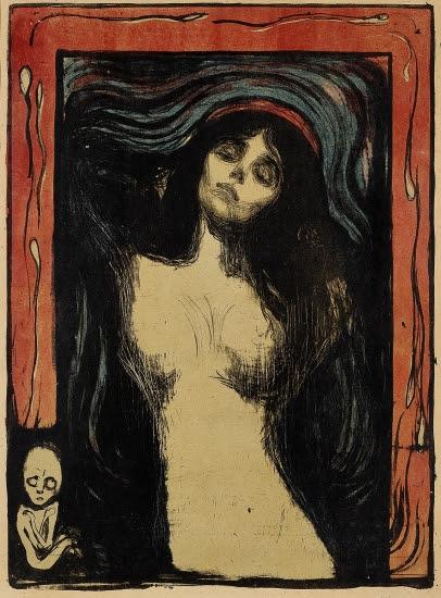 Edvard Munch — Madonna (lithograph)
