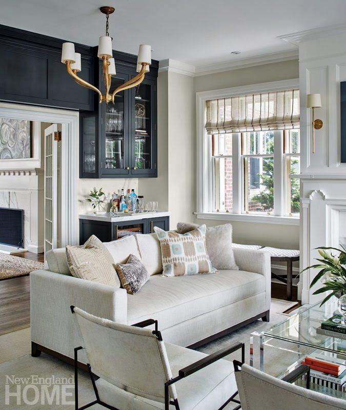 A Tudor Style Home Gets a Fresh Look - New England Home ...