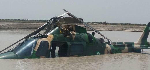 Image result for images of Air Force helicopter crashes in Katsina