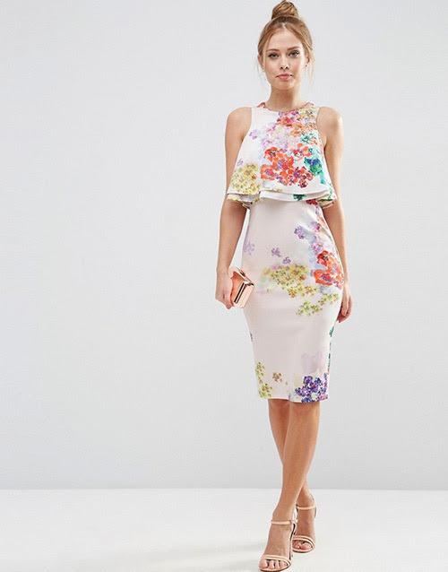 Летние платья с цветочным принтом 2016