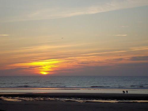 Fort Mahon sunset