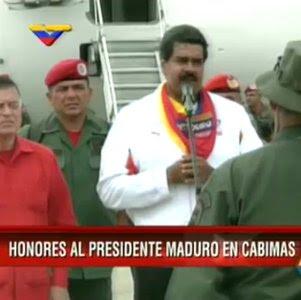 Maduro llega a Cabimas