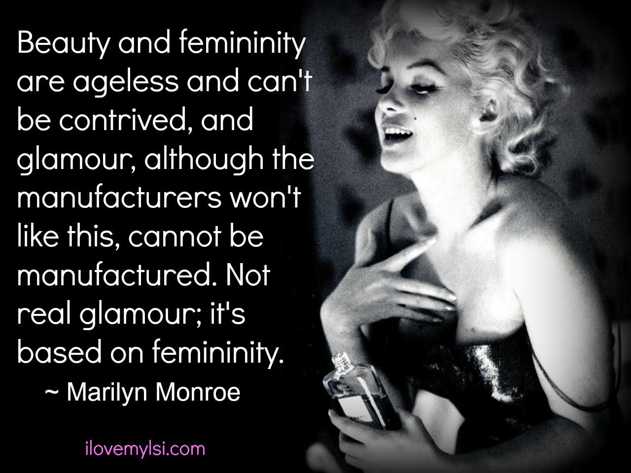 Beauty glamour femininity