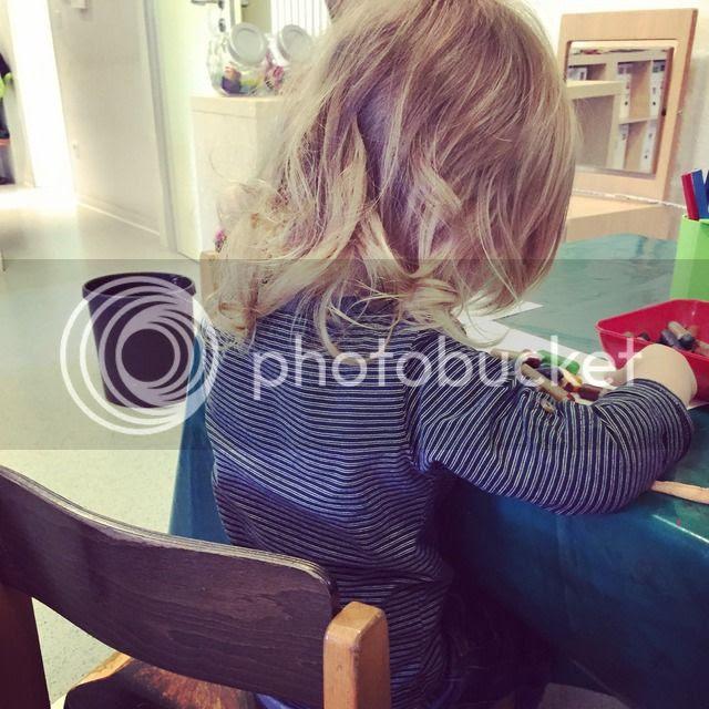 Bjarne im Kindergarten