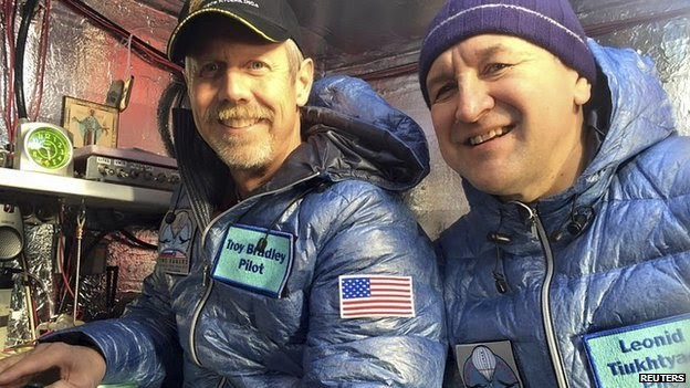 Balloonists complete Pacific journey