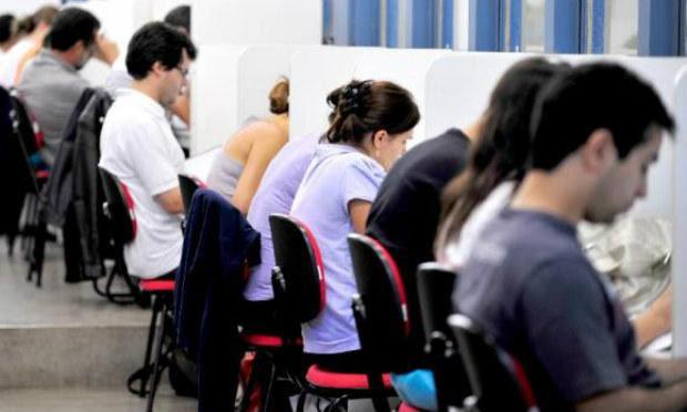 Os dois juntos concursos oferecem 1.550 vagas / Foto: Agência Brasil