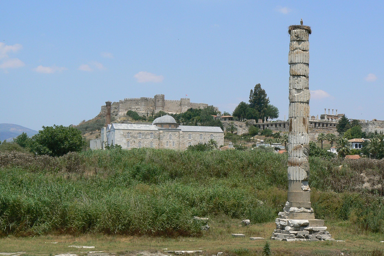 Остатки храма Артемиды сегодня
