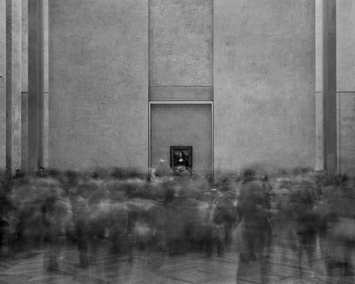 foule musee 01 La foule des musées  photographie bonus art